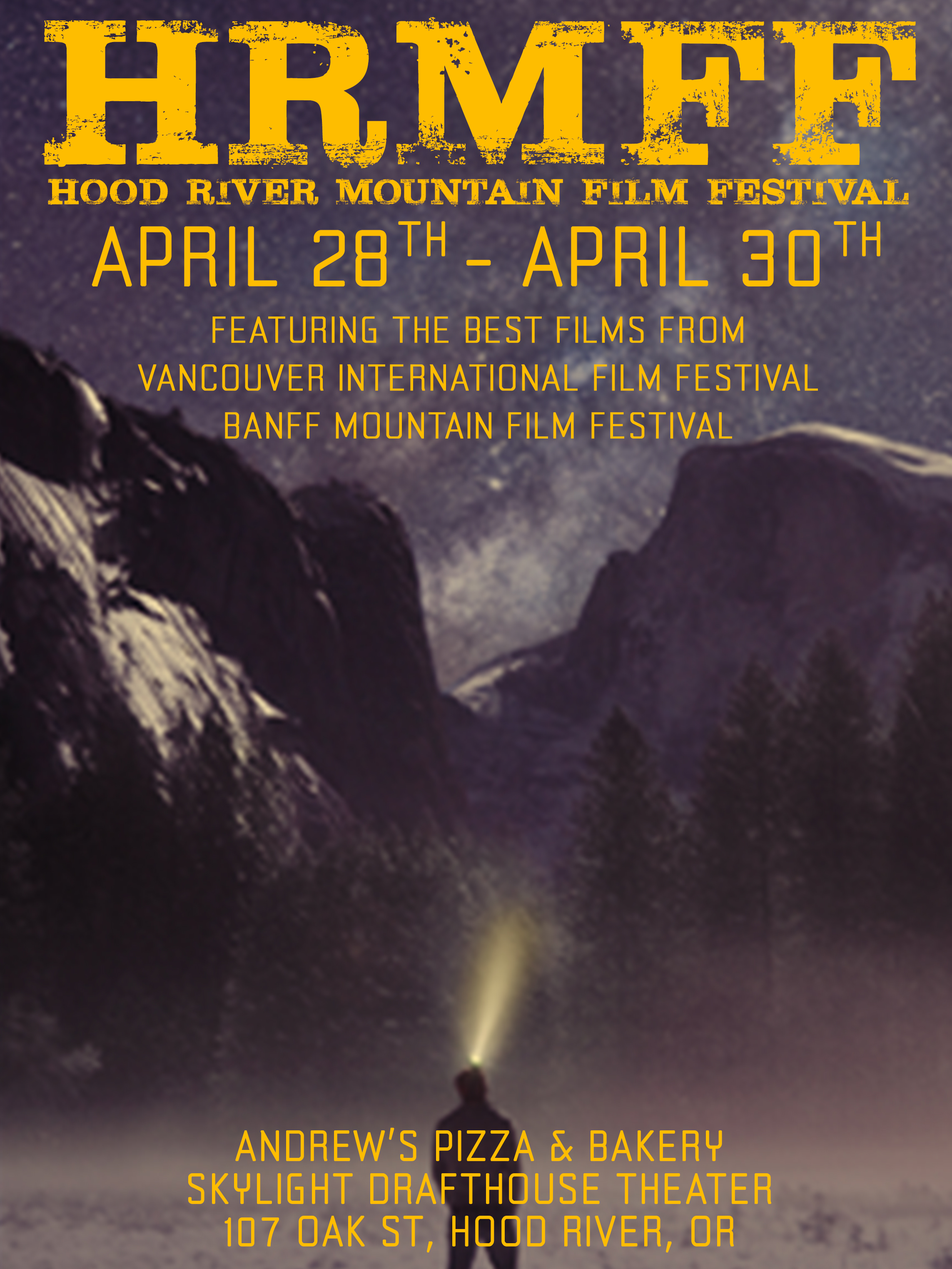 HOOD RIVER MOUNTAIN FILM FESTIVAL